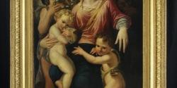 36-madonna-con-bambino-san-giovannino-e-angeli-sec-xvi