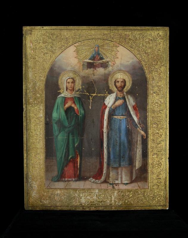 137-santi-costantino-e-martire-sec-xix-russia