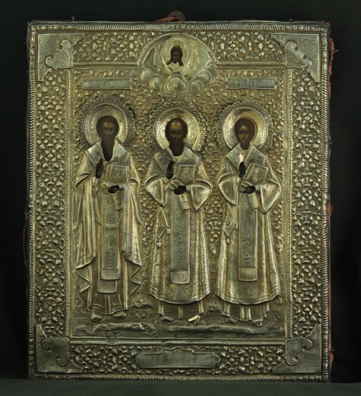 47-tre-gerarchi-basilio-il-grande-gregorio-il-teologo-giovanni-crisostomo-con-riza-1895-russia