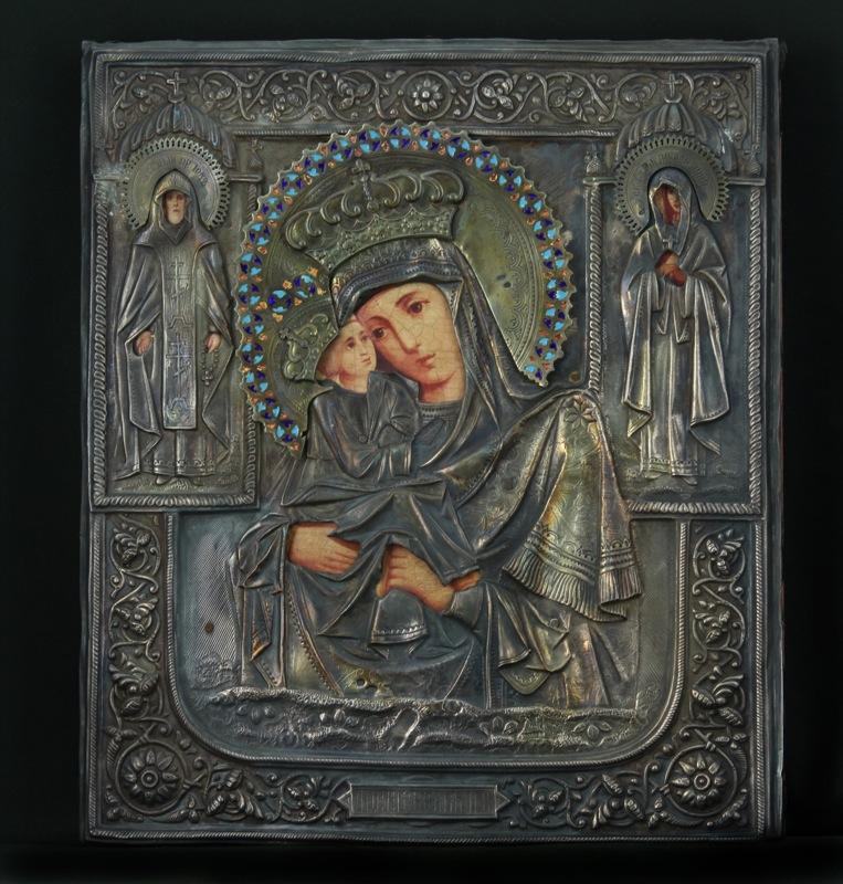 54-madre-di-dio-pocajevskaja-con-riza-sec-xix-russia