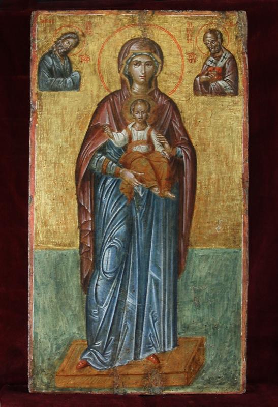 85-madre-di-dio-trono-di-dio-con-santi-sec-xvii-creta