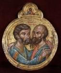 114-abbraccio-dei-santi-pietro-e-paolo-sec-xvii-creta