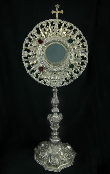 40-ostensorio-raggiato-argento-messina-1700
