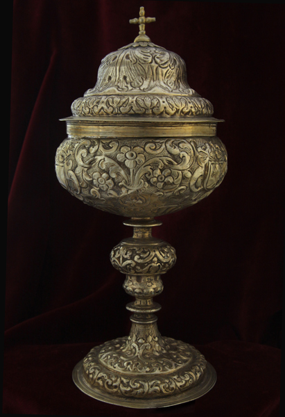 114-pisside-argento-dorato-messina-1699